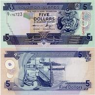 SOLOMON IS.         5 Dollars       P-26       ND (2011)       UNC  [ Sign. 10 ] - Isla Salomon