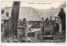 DAHOMEY - Village Indigène à Abomey - Dahomey