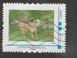 MON TIMBREAMOI- LETTRE 20G - CHIENS MALINOIS - France