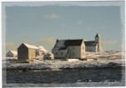 Saint-Pierre Et Miquelon - Maisons De L'Ile Aux Marins En Hiver - Eglise Notre-Dame Des Marins - Saint-Pierre-et-Miquelon
