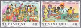 ST VINCENT     SCOTT NO  602 A-B      MNH      YEAR  1980 - St.Vincent (1979-...)