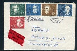 Allemagne - Enveloppe En Exprès De Stuttgart Pour La Suisse En 1959 - Réf AT 193 - [7] Federal Republic