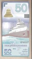 New Jason Islands - Banconota Non Circolata FDS Di Fantasia Da 50 Australes - 2012 - Non Classificati