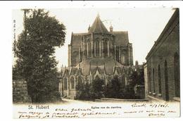 CPA - Carte Postale - Belgique-Saint Hubert Eglise Vue De Derrière En 1904-VM5332 - Saint-Hubert