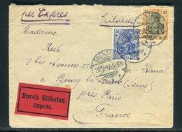 Allemagne - Enveloppe En Exprès De Grenzach Pour La France En 1912 - Réf AT 203 - Cartas