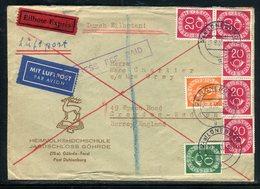 Allemagne - Enveloppe En Exprès De Dahlenburg Pour Le Royaume Uni En 1953 - Réf AT 204 - [7] Federal Republic