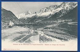 Chemin De Fer électrique  Le FAYET-CHAMONIX   Station Et Village Des HOUCHES - France