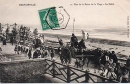 50-  100293 -   COUTAINVILLE  -  FETE DE LA REINE De La Plage ,le Defilé 1910 - Unclassified