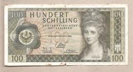 Austria - Banconota Circolata Da 100 Scellini P-145a - 1969 - Austria