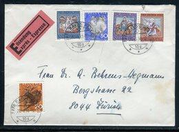 Suisse - Enveloppe En Exprès De Davos Platz Pour Zurich En 1966 - Réf AT 215 - Postmark Collection