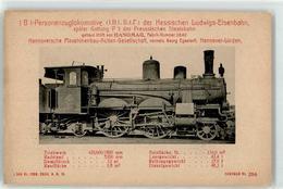 52795314 - 1 B 1 Personenzuglokomotive Hanomag - Treinen