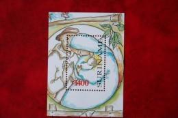 Surinam / Suriname 1998 Minisheet Kerst Weihnachten Noel Christmas  (ZBL 1002 Mi -  Sc -) POSTFRIS / MNH ** - Suriname