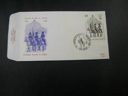 "BELG.1988 2308 FDC (Brugge)KII : "" Koninklijk Escorte Te Paard / L'escorte Royal A Cheval "" - FDC"