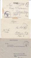 1940 - GERMANY - III REICH - FELDPOST - FIELD POST - CORREO DE CAMPAÑA - 3 COVERS - Briefe U. Dokumente
