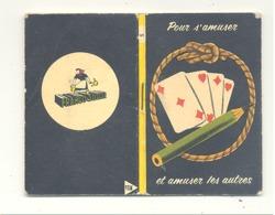 """Mini Livre """" Pour S'amuser Et Amuser Les Autres """" Magie, Truc,.. Edité Par """" Franco Suisse """" Fromage (b254) - Publicités"""