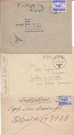 1942 - GERMANY - III REICH - FELDPOST - FIELD POST - CORREO DE CAMPAÑA - 3 COVERS - Briefe U. Dokumente