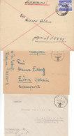 1943 - GERMANY - III REICH - FELDPOST - FIELD POST - CORREO DE CAMPAÑA - 3 COVERS - Briefe U. Dokumente