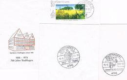 Deutschland Brief Aus Stadthagen Und 2 Sonderstempel - BRD