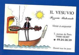 Carte De RestaurantPizz. IL VESUVIO Niort 79 - Maps