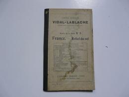 NOTICE DE LA CARTE N°3 : Cartes Murales VIDAL-LABLACHE - FRANCE - Relief Du Sol - Natuur
