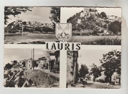 CPSM LAURIS (Vaucluse) - 4 Vues - France