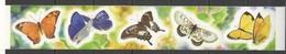 N629 2001 SAMOA FLORA & FAUNA BUTTERFLIES !!! SELF-ADHESIVE #931-5 1SET MNH - Schmetterlinge