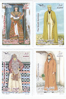 Algeria New Issue 2019, Costumes From Medit.Joint & Common Issue 4v. Cpl Set MNH- SSKRILL ONLY - Algeria (1962-...)