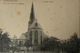 Winschoten //  R. K. Kerk 19?? Vlekkig De Tulp - Winschoten