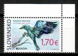 Slovakia 2019 Eslovaquia  / Birds Europa CEPT MNH Vögel Aves Oiseaux / Cu14314  4-17 - Pájaros