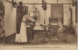 Abbaye N.D. De Scourmont,  Forges-Chimay.  -  Imprimerie - Chimay