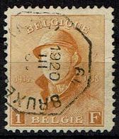 175  Obl  Oct. BXL - 1919-1920 Roi Casqué