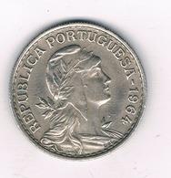 1 ESCUDO 1964 PORTUGAL /5987/ - Portugal
