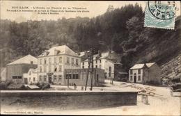 Cp Bouillon Wallonien Luxemburg, L'Hotel De France Et Sa Verandah - Belgique