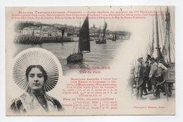 - CPA BOULOGNE-SUR-MER (62) - Vue Du Port - Services Transatlantiques - Photo J. Bienaimé - - Boulogne Sur Mer