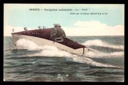 NAVIGATION Automobile, Le Fiat - Barche