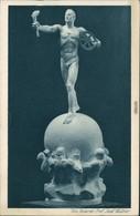 Glückwunsch/Grußkarten: Weihnachten - Plastik Im Rotary Club In Wien 1924 - Unclassified