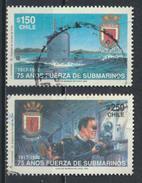 °°° CILE CHILE - Y&T N°1113/14 - 1992 °°° - Cile