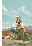 Lot 3 CPA  ( Précurseurs) - Belles Illustrations Costumes De L'Europe Centrale -Sans Frais Acheteur - Postales