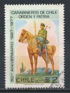 °°° CILE CHILE - Y&T N°483 - 1977 °°° - Cile