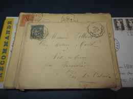 PETIT LOT DE LETTRES DE FRANCE (lot 129) - Postzegels