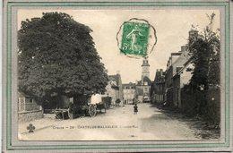 CPA - CHATELUS-MALVALEIX (23) - Aspect De La Grande-Rue En 1910 - Chatelus Malvaleix