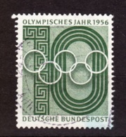 1956  Deutsche Bundespost, Gebraucht - Sommer 1956: Melbourne