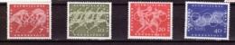 1960  Rom, Deutsche Bundespost, (4 Werte), Postfrisch - Sommer 1960: Rom