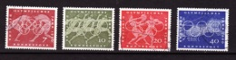 1960  Rom, Deutsche Bundespost, (4 Werte), Gebraucht - Sommer 1960: Rom