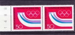 1976  Innsbruck, Deutsche Bundespost, 2er Streifen,  Postfrisch - Winter 1976: Innsbruck