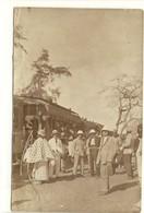 Carte Photo Ancienne Sénégal - Tiaroye (Thiaroye). Gare Des Chemins De Fer - Sénégal