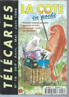 TELECARTES - LA COTE EN POCHE N° 18  - 1996 - Telefoonkaarten