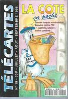 TELECARTES - LA COTE EN POCHE N° 19  - 1996 - Kataloge & CDs