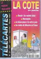 TELECARTES - LA COTE EN POCHE N° 21  - 1997 - Télécartes