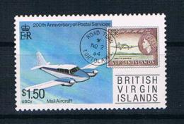 British Virgin Islands 1987 Flugzeug Mi.Nr. 606 ** - British Virgin Islands